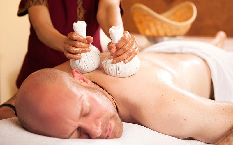 Kräuterstempel Massage Bad Schwartau