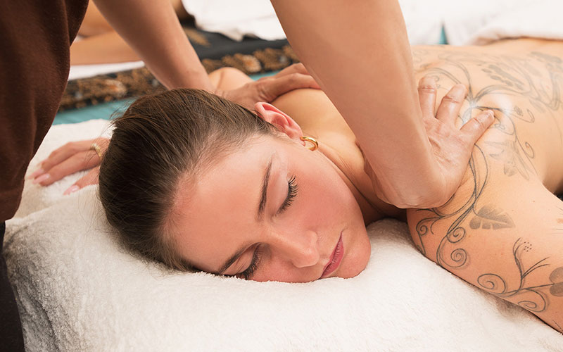 Asia-Blend Massage Schulterbereich