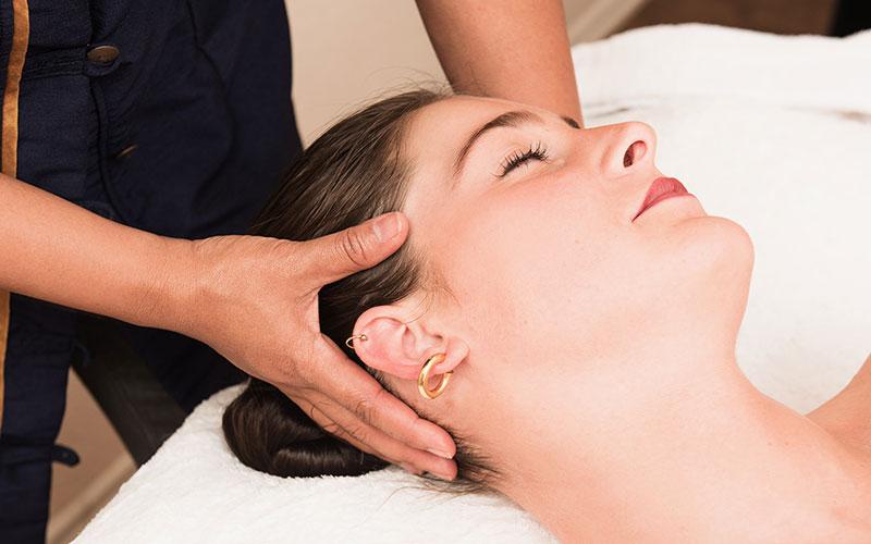 Teilkörper-Massage: Kopfmassage