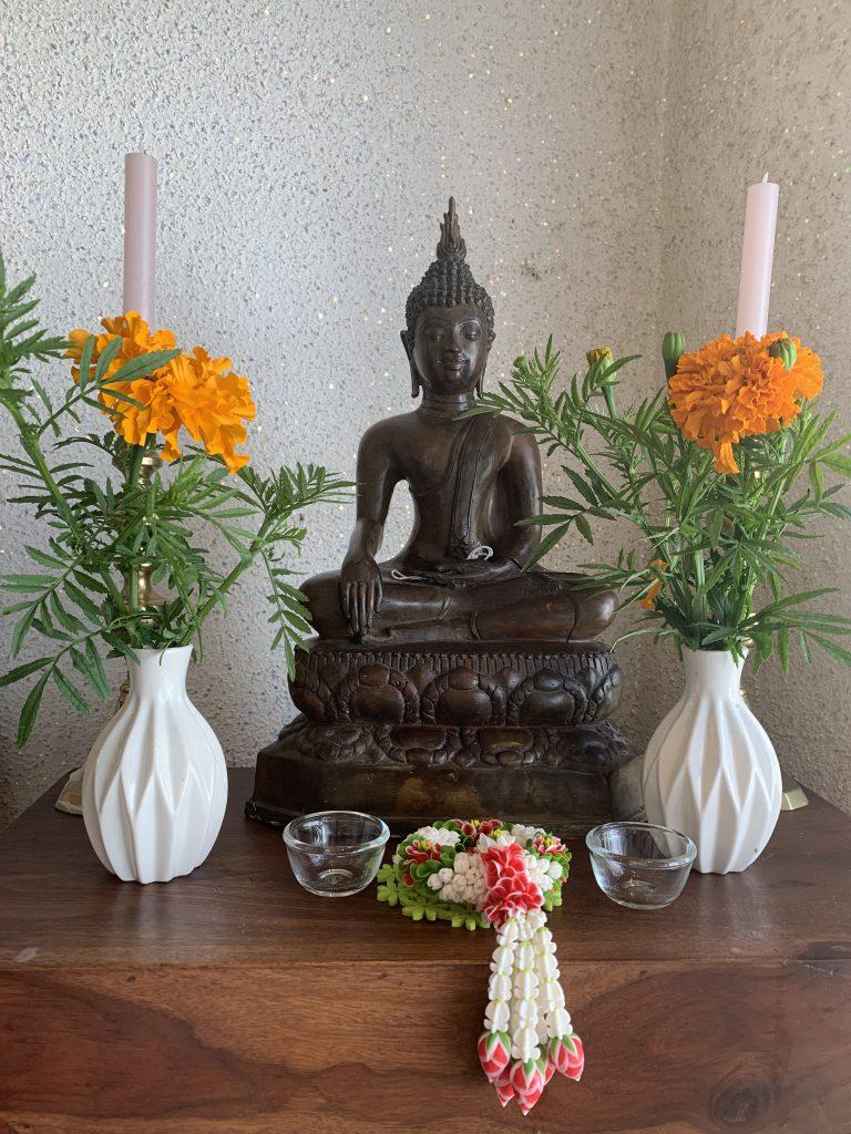 Buddha bei BKK original Thaimassage in Mölln